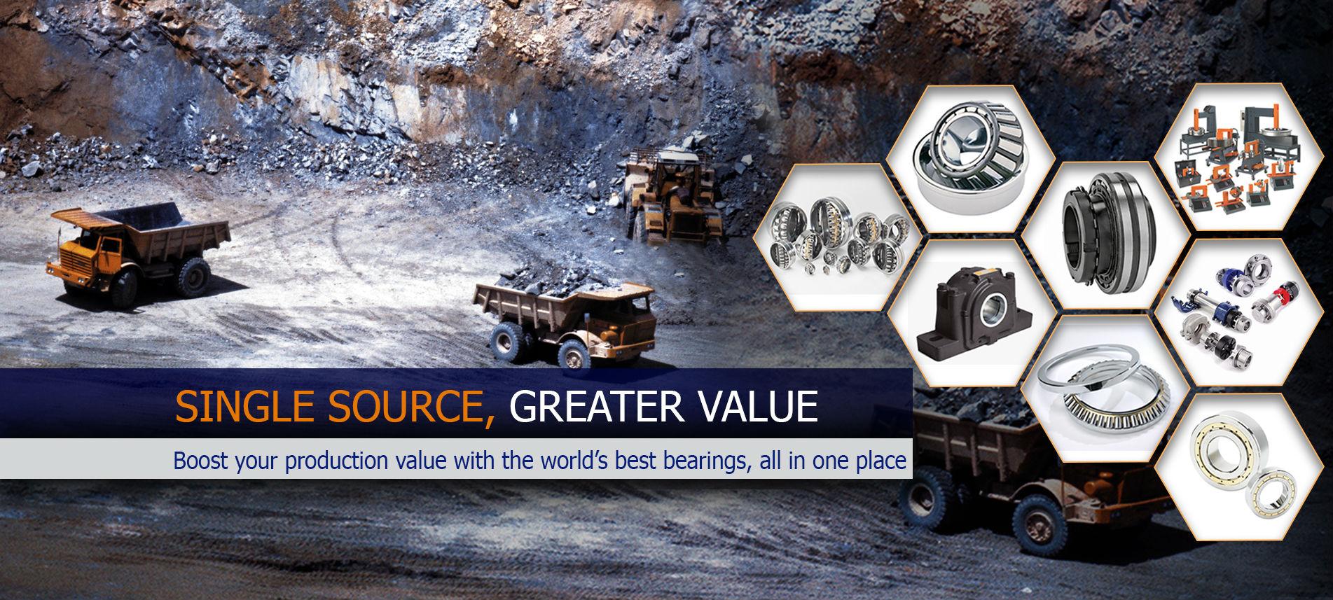 single source grater value